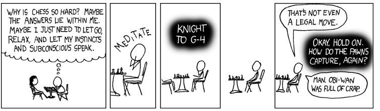 chess cartoon