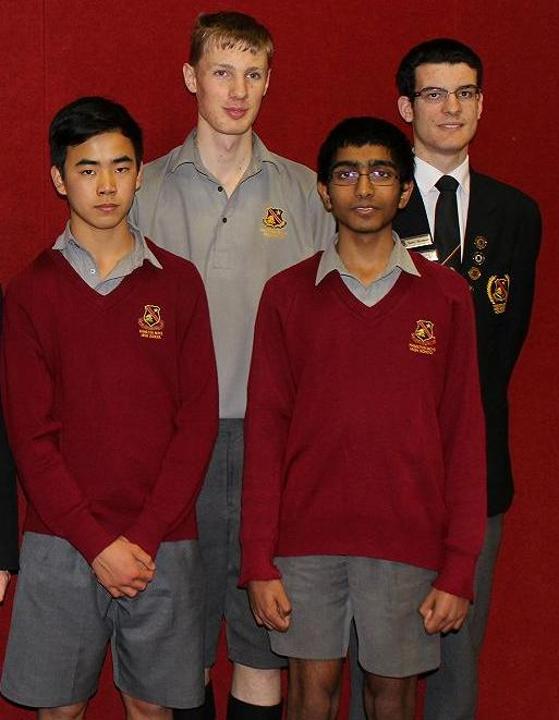 Waikato Interschool Chess High School 1st equal