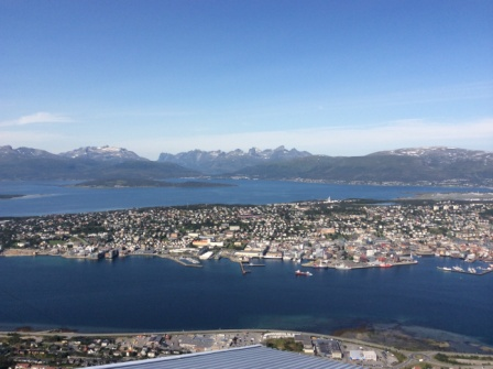 View From Above Tromso
